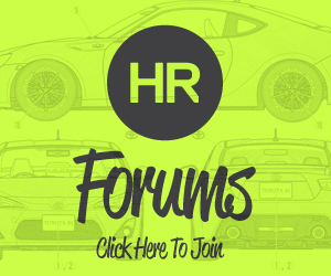 HR AE86 and ZN6 Discussion Forums