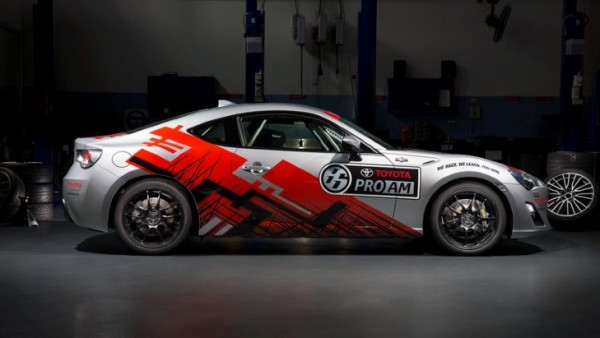 2015 Toyota 86 Pro-Am development car