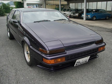 AE85 Trueno Coupe chopped roof