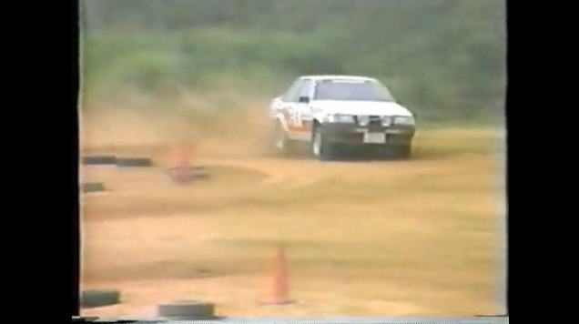 Probably the first AE86 used in motorsports!