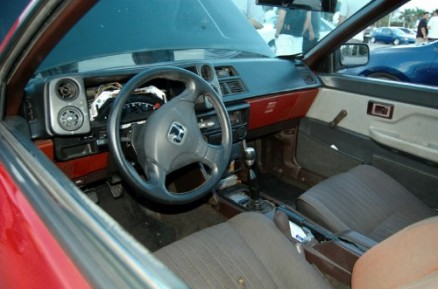 Honda Steering Wheel in a Hachi?